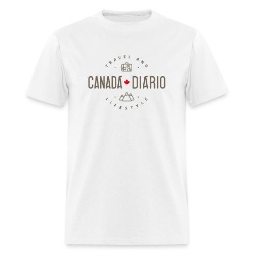Canada Diario - Camiseta Masculina 1 - Men's T-Shirt