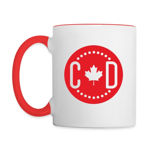 Canada Diario - Caneca 2 - Contrast Coffee Mug
