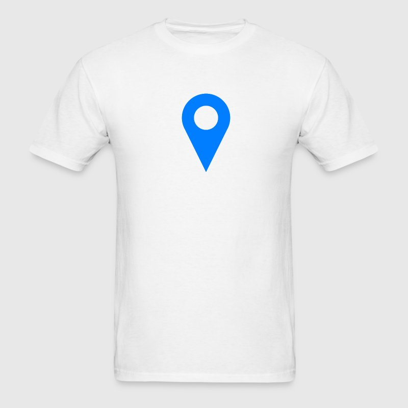 Location Icon T-Shirt - Men's T-Shirt