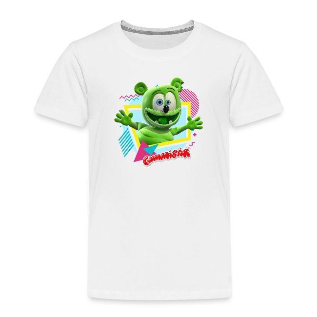 Gummibär (The Gummy Bear) Fun Shapes n' Colors Toddler T-Shirt