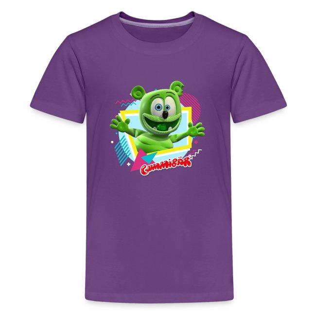 Gummibär (The Gummy Bear) Fun Shapes n' Colors Kids' T-Shirt