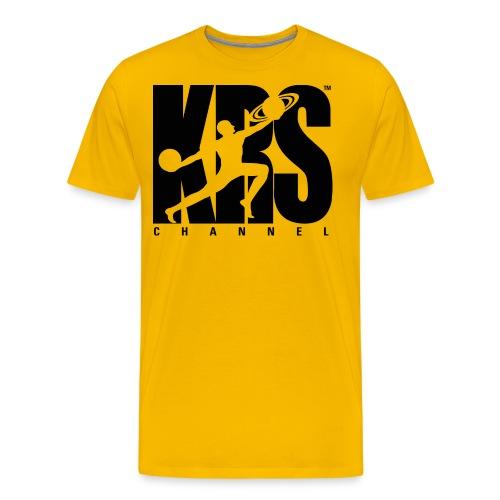 black large logo men  - Men's Premium T-Shirt