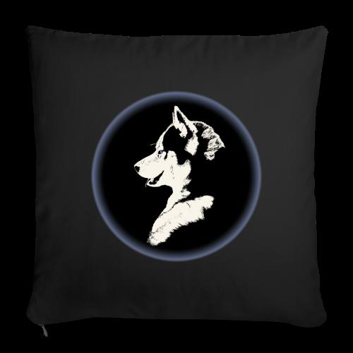 """Siberian Husky Pillows Husky Malamute DogThrow Pillows - Throw Pillow Cover 18"""" x 18"""""""
