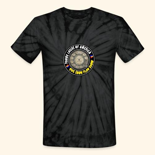 Tie Die Snow Plow Show - Unisex Tie Dye T-Shirt