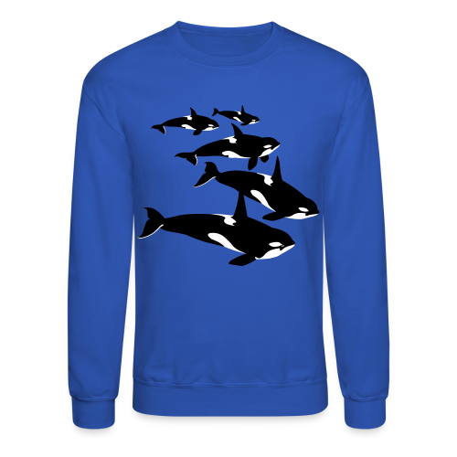 Orca Shirts Killer Whale Art Sweatshirts - Crewneck Sweatshirt