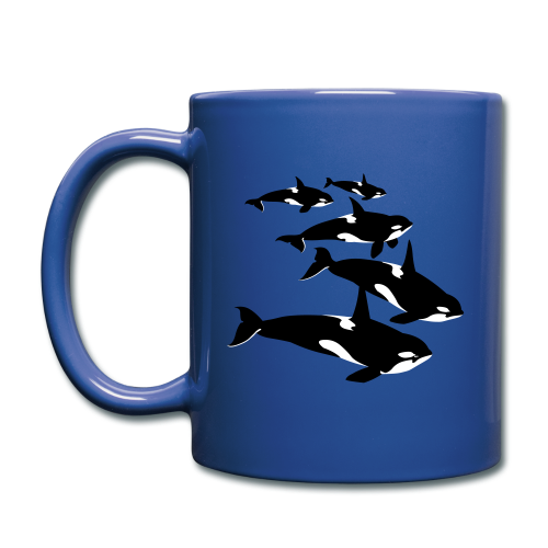 Orca Whale Cups Killer Whale Gifts - Full Color Mug