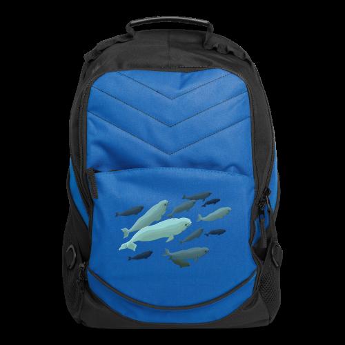 Beluga Backpacks Beluga Whale Art  Bags - Computer Backpack