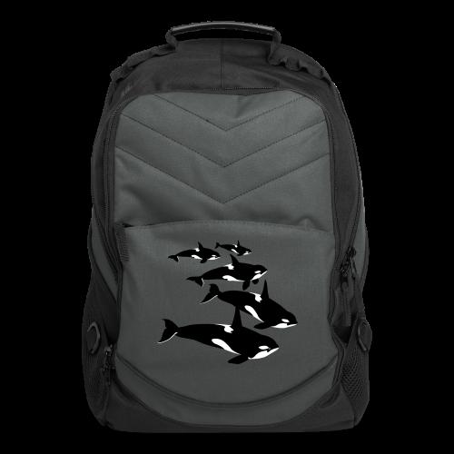 Orca Whale Backpacks Killer Whale Art Bags - Computer Backpack