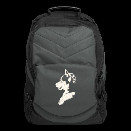 Husky Pup Backpack Siberian Husky Bags - Computer Backpack