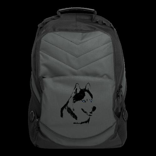 Husky Bags Eco-friendly Siberian Husky Tote Bags  - Computer Backpack