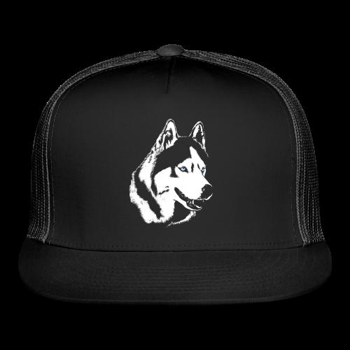 Husky Caps Siberian Husky / Malamute Trucker Hats - Trucker Cap