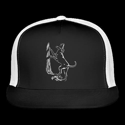 Hunting Dog Caps Hound Dog Art Trucker Caps - Trucker Cap