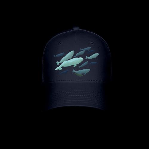 Beluga Caps Beluga Whale Art Baseball Caps - Baseball Cap