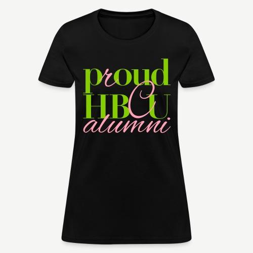 Proud HBCU Alumni T-shirt - Women's T-Shirt