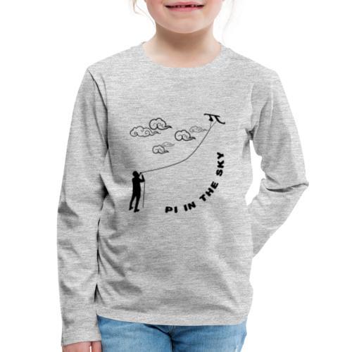 Pi In The Sky Kids Premium Long Sleeve T-shirt - Kids' Premium Long Sleeve T-Shirt