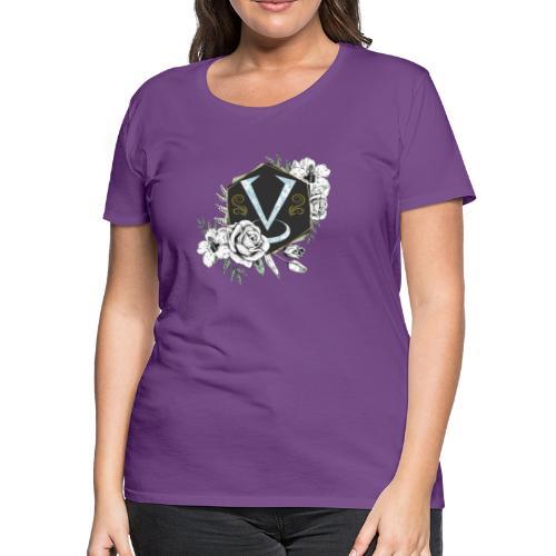 Women's Vc Floral Logo - Women's Premium T-Shirt
