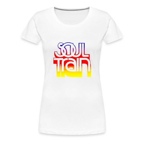 Soul Train Women  - Women's Premium T-Shirt