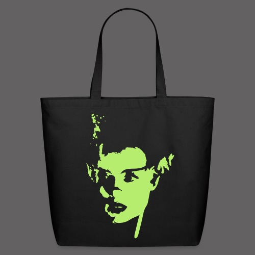Darq•arts The Bride Large Tote - Eco-Friendly Cotton Tote