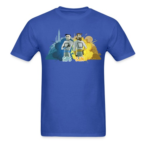 Sips & Sjin - Men's Tee - Men's T-Shirt