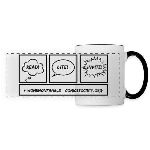 Read! Cite! Invite! - Panoramic Mug