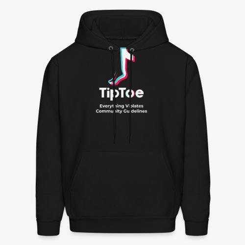 TipToe Parody Logo - Hoodie - Men's Hoodie