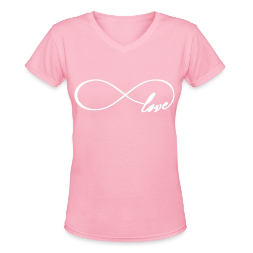 Love - Women's V-Neck T-Shirt