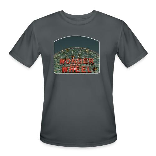 Wonder Wheel - Men's Moisture Wicking Performance T-Shirt