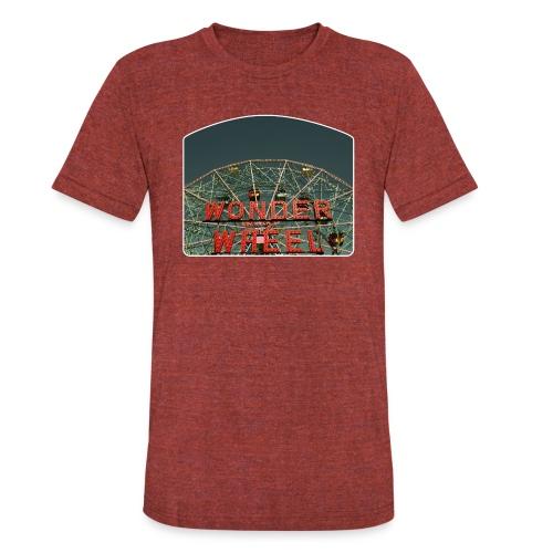Wonder Wheel - Unisex Tri-Blend T-Shirt