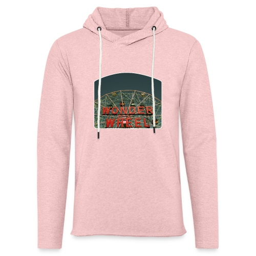 Wonder Wheel - Unisex Lightweight Terry Hoodie