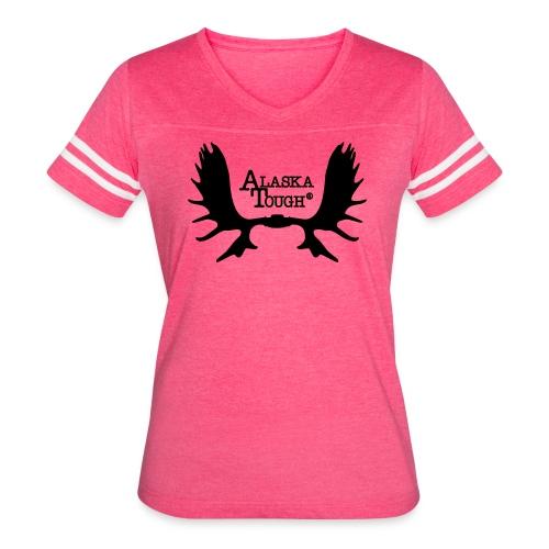 Alaska Tough Logo Shirt for Women  - Women's Vintage Sport T-Shirt