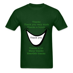 Many thanks shirt - Men's T-Shirt