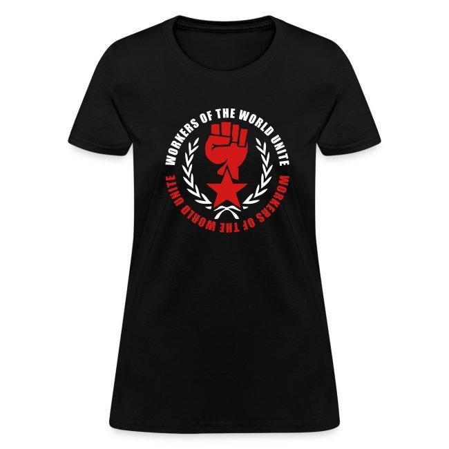 Marxist Fist Women's Tee Shirt