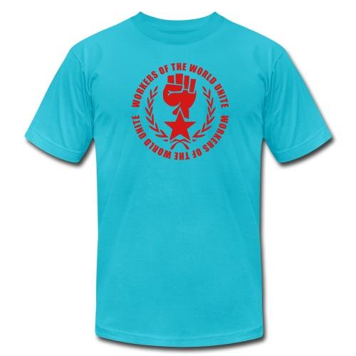Marxist Fist Jersey Tee Shirt (click for more colors) - Men's Fine Jersey T-Shirt