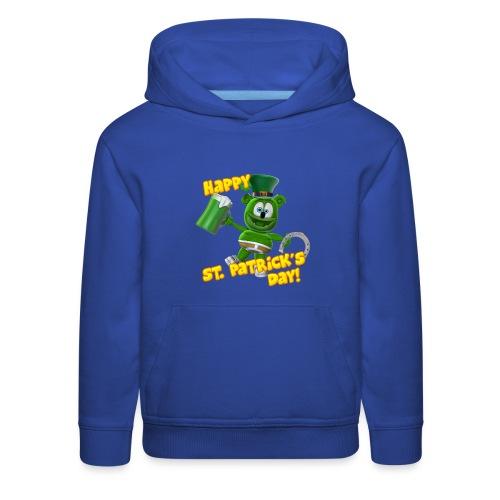 Gummibär (The Gummy Bear) St. Patrick's Day Kid's Hoodie - Kids' Premium Hoodie