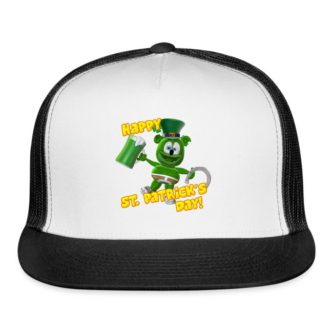 Gummibär (The Gummy Bear) Saint Patrick's Day Trucker Cap