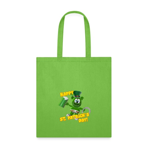 Gummibär (The Gummy Bear) St. Patrick's Day Tote Bag - Tote Bag