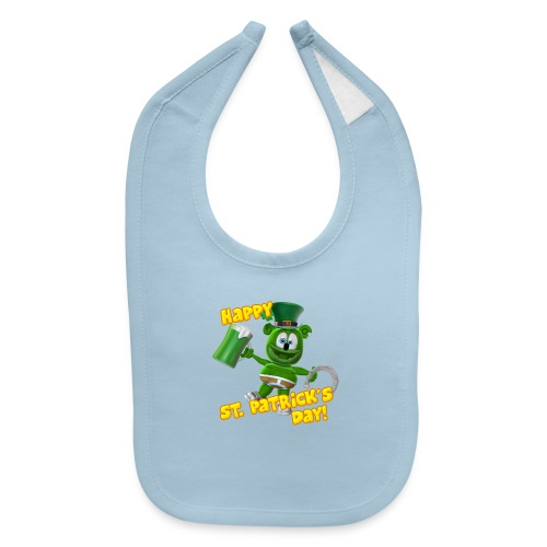 Gummibär (The Gummy Bear) St. Patrick's Day Bib - Baby Bib