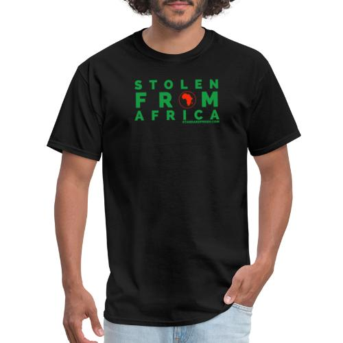 Stolen From Africa (w/sleeve) - Men's T-Shirt