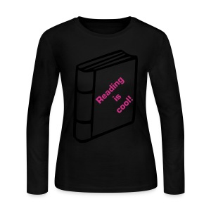 Reading is cool! - Women's Long Sleeve Jersey T-Shirt