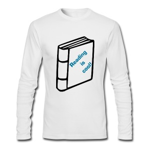 Reading is cool! - Men's Long Sleeve T-Shirt by Next Level