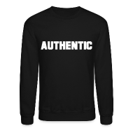 Long Sleeve Shirts ~ Crewneck Sweatshirt ~ Authentic Crewneck