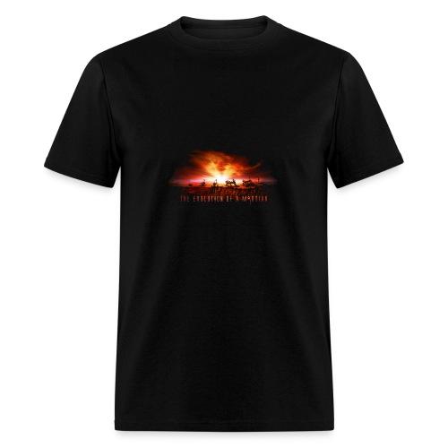 The Evolution of a martian - Men's T-Shirt