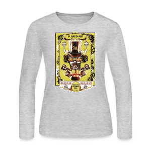 Planet Beer Gear Head Steampunk Strong Ale Women's Long SleeveT-Shirt  - Women's Long Sleeve Jersey T-Shirt