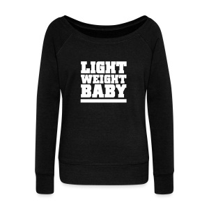 Light weight baby | womens jumper - Women's Wideneck Sweatshirt