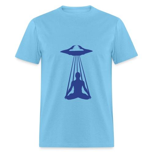 UFO MEDITATION - Men's T-Shirt
