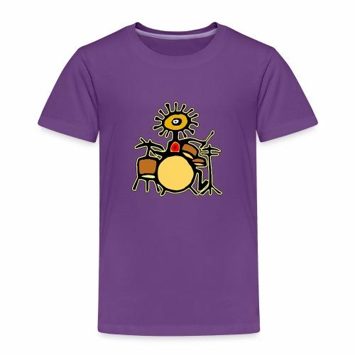 Sun Man Drummer - Toddler Premium T-Shirt