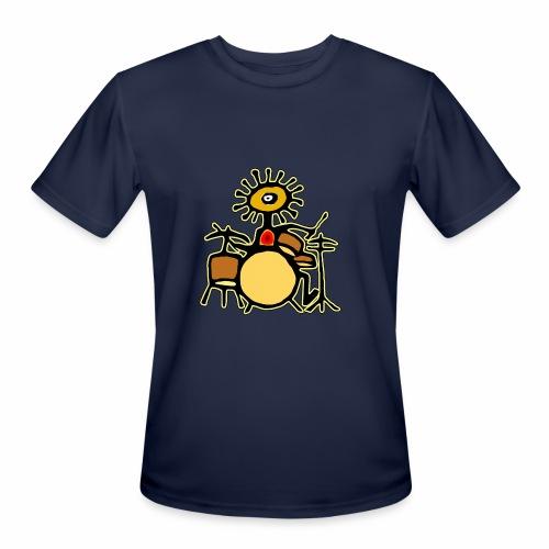 Sun Man Drummer - Men's Moisture Wicking Performance T-Shirt