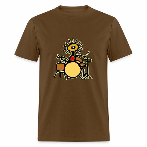 Sun Man Drummer - Men's T-Shirt
