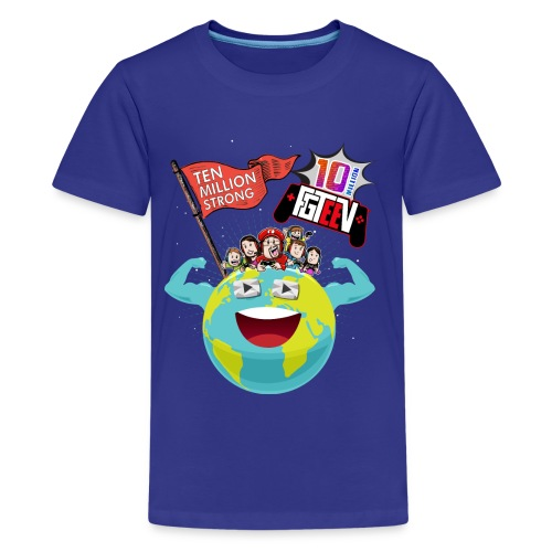 10 Million (Kids) - Kids' Premium T-Shirt
