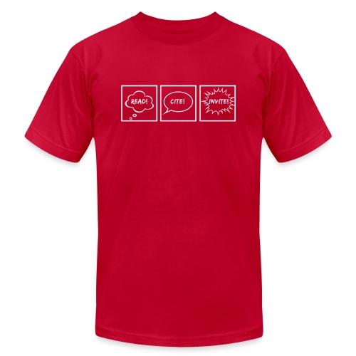 Read! Cite! Invite! - Men's  Jersey T-Shirt